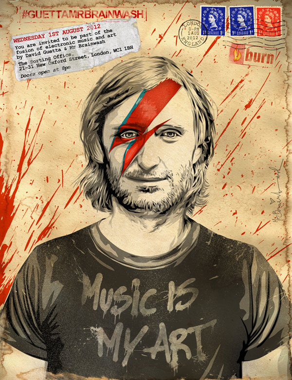 Rave Art: Mr Brainwash & David Guetta know how to party (1/6)