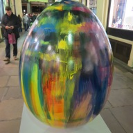 43. The Dye Egg by Lindsay Bull