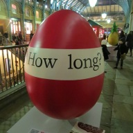 48. What's that How long Sit on it. Samuel Beckett. (René's eggs) by Maeve Rendle