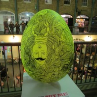 73. COSMIC EGG by Robert Rubbish