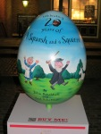 95. The Squash and a Squeeze 20th Anniversary Egg by Julia Donaldson, Axel Scheffler & PanMacmillan
