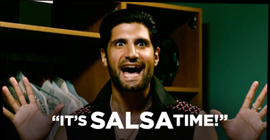 """It's salsa time!"" - from Cuban Fury, the second best dance movie ever (after Dirty Dancing of course)"